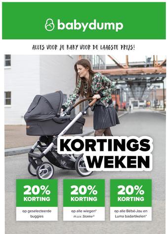 Baby-Dump reclame folder (geldig t/m 13-04)