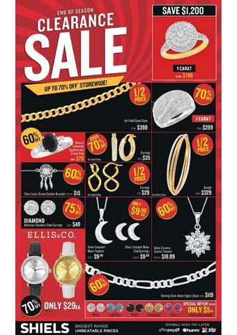 Shiels catalogue (valid until 05-04)
