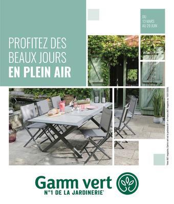 Gamm vert catalogue publicitaire (valable jusqu'au 28-06)