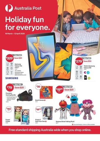Australia Post catalogue (valid until 12-04)