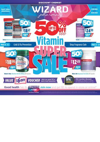 Wizard Pharmacy catalogue (valid until 12-04)
