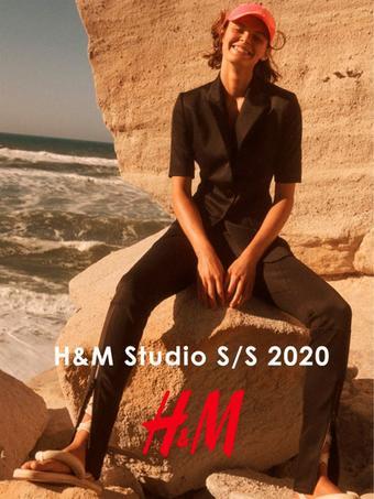 H&M reclame folder (geldig t/m 13-04)