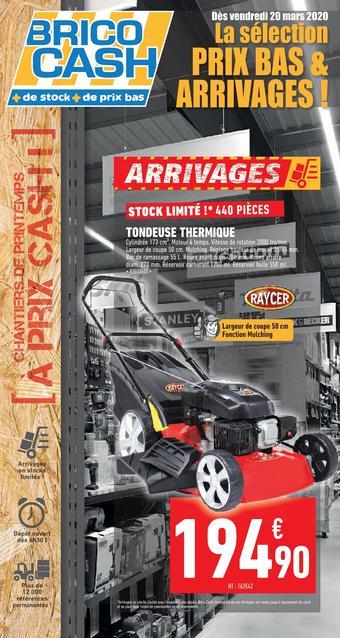 Brico Cash catalogue publicitaire (valable jusqu'au 02-04)