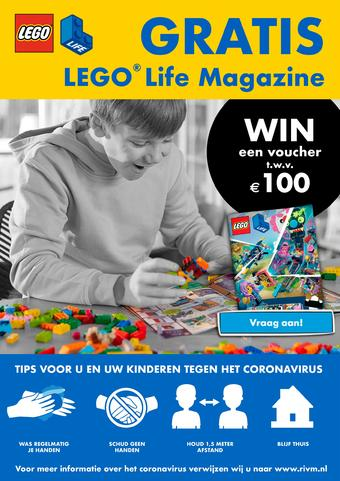LEGO reclame folder (geldig t/m 30-04)