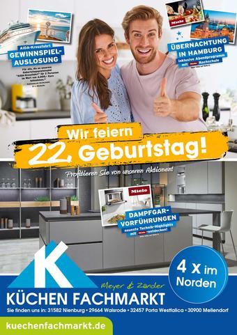 Küchenfachmarkt Meyer & Zander Prospekt (bis einschl. 10-04)