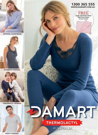 Damart catalogue (valid until 30-04)