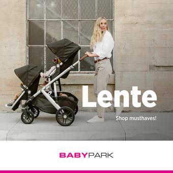 Babypark reclame folder (geldig t/m 13-04)
