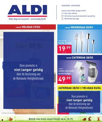 ALDI reclame folder (geldig t/m 03-04)