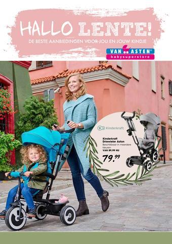Van Asten BabySuperstore reclame folder (geldig t/m 01-04)