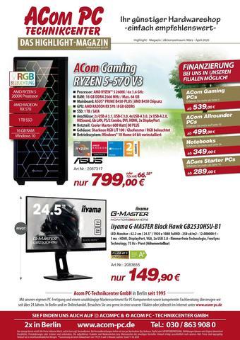 ACom PC Prospekt (bis einschl. 30-04)