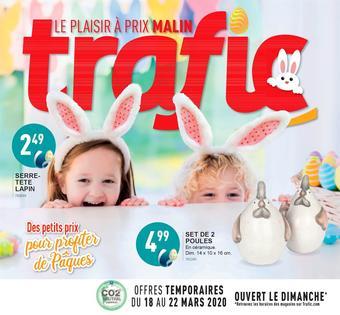 Trafic catalogue publicitaire (valable jusqu'au 05-04)