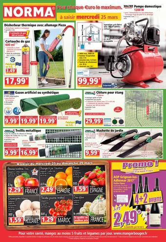 Norma catalogue publicitaire (valable jusqu'au 31-03)