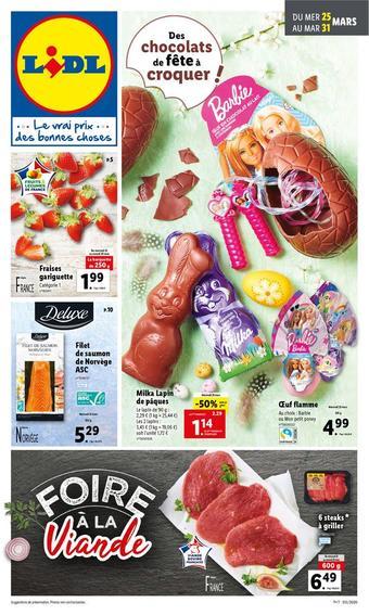 Lidl catalogue publicitaire (valable jusqu'au 31-03)