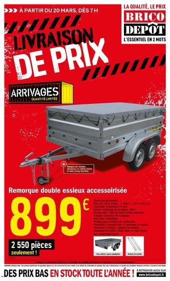 Brico Dépôt catalogue publicitaire (valable jusqu'au 09-04)