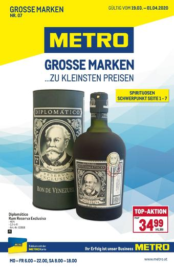 Metro Werbeflugblatt (bis einschl. 01-04)
