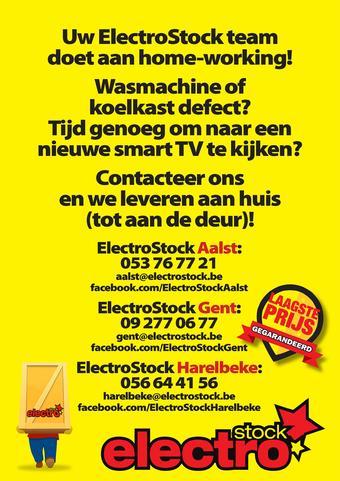 ElectroStock reclame folder (geldig t/m 07-04)