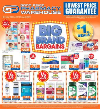 Good Price Pharmacy catalogue (valid until 15-04)