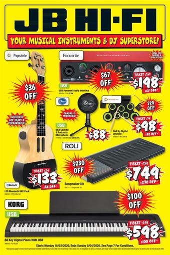 JB Hi-Fi catalogue (valid until 05-04)