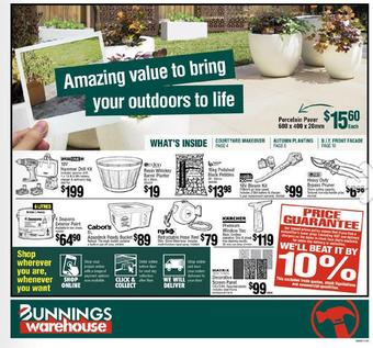 Bunnings catalogue (valid until 11-04)
