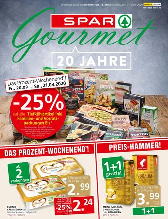 SPAR-Gourmet Werbeflugblatt (bis einschl. 01-04)