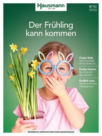 Hausmann Werbeflugblatt (bis einschl. 05-07)