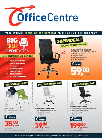 Office Centre reclame folder (geldig t/m 21-04)