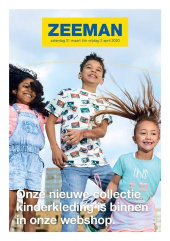 Zeeman reclame folder (geldig t/m 03-04)