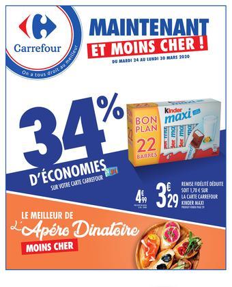 Carrefour catalogue publicitaire (valable jusqu'au 30-03)