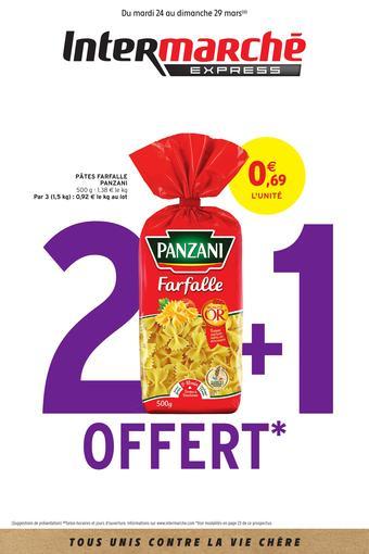 Intermarché Express catalogue publicitaire (valable jusqu'au 29-03)
