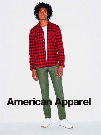 American Apparel reclame folder (geldig t/m 20-05)
