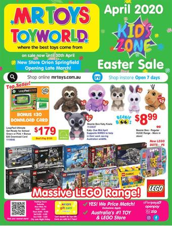 Mr Toys catalogue (valid until 30-04)