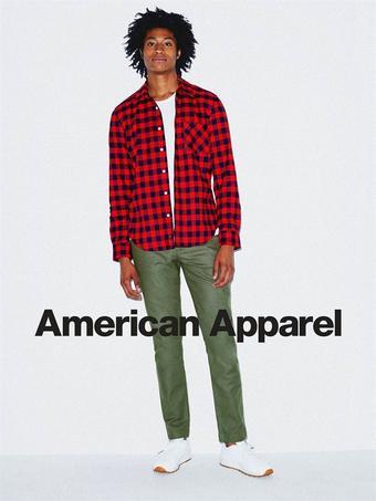 American Apparel Prospekt (bis einschl. 18-05)