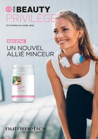 Nutrimetics catalogue publicitaire (valable jusqu'au 06-04)