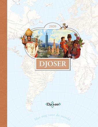 Djoser Reizen reclame folder (geldig t/m 31-03)