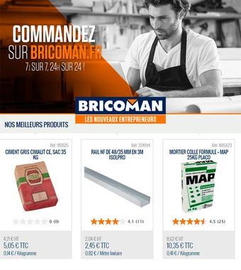 Bricoman catalogue publicitaire (valable jusqu'au 21-04)