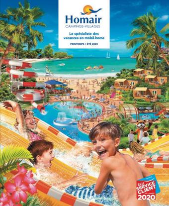 Homair catalogue publicitaire (valable jusqu'au 31-12)
