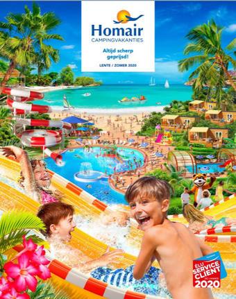 Homair reclame folder (geldig t/m 30-09)