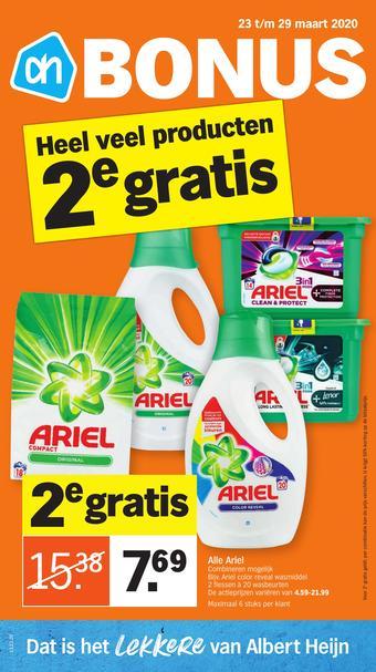 Albert Heijn reclame folder (geldig t/m 29-03)