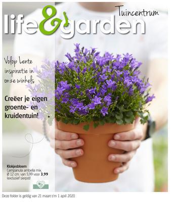 Life & Garden reclame folder (geldig t/m 01-04)