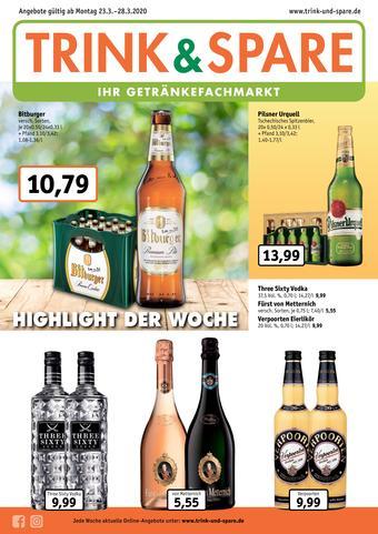 Trink und Spare Prospekt (bis einschl. 28-03)