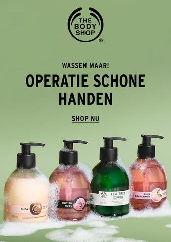 The Body Shop reclame folder (geldig t/m 05-04)
