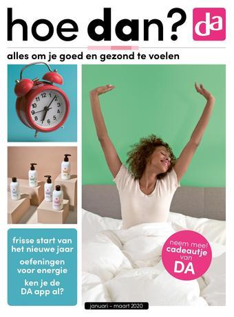 DA reclame folder (geldig t/m 31-03)