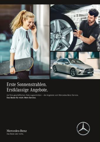 Mercedes Benz Prospekt (bis einschl. 30-06)