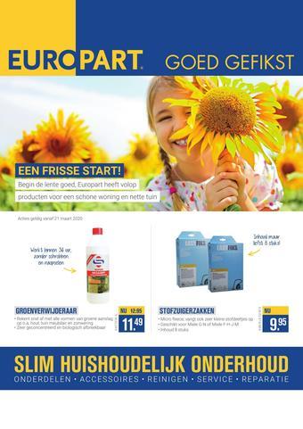 Europart reclame folder (geldig t/m 26-04)