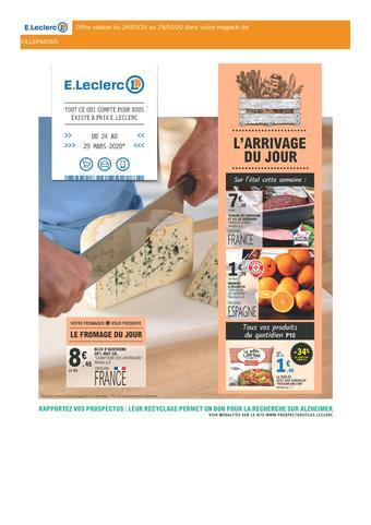 E.Leclerc catalogue publicitaire (valable jusqu'au 28-03)