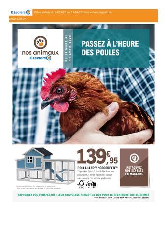 E.Leclerc catalogue publicitaire (valable jusqu'au 11-04)