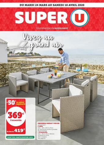 Super U catalogue publicitaire (valable jusqu'au 18-04)