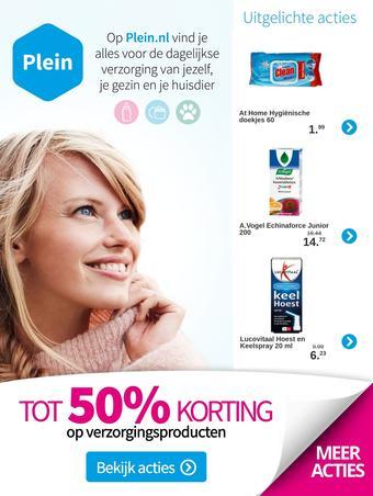 Plein.nl reclame folder (geldig t/m 12-04)