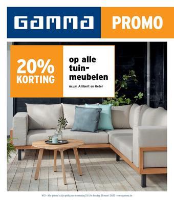 GAMMA reclame folder (geldig t/m 31-03)