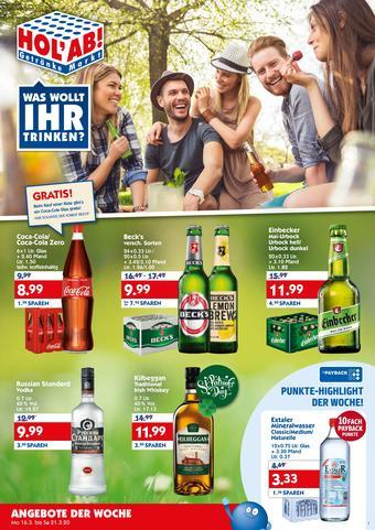 Hol'ab Getränkemarkt Prospekt (bis einschl. 28-03)